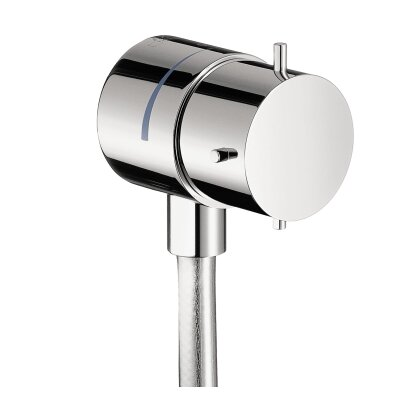Axor Starck Fix Fit Wall Outlet Finish: Chrome