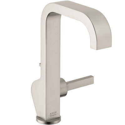 Axor Citterio Tall Single Hole Faucet Finish: Brushed Nickel