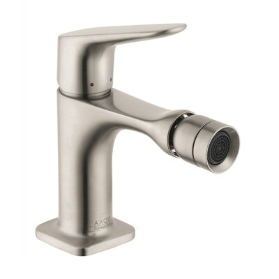 Axor Citterio Single Handle Horizontal Spray Bidet Faucet Finish: Brushed Nickel