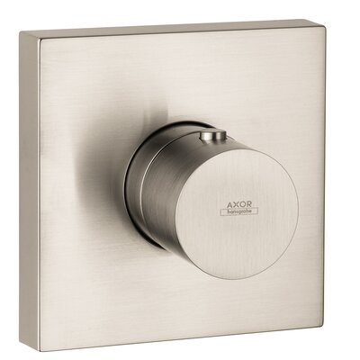 Axor Starck Thermostatic Faucet Trim Finish: Brushed Nickel