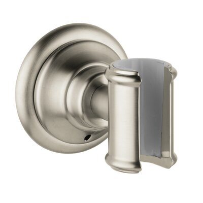 Axor Montreux Porter Handshower Holder Finish: Brushed Nickel