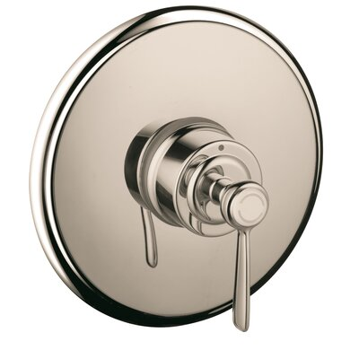 Axor Montreux Pressure Balance Faucet Trim with Lever Handle Finish: Polished Nickel
