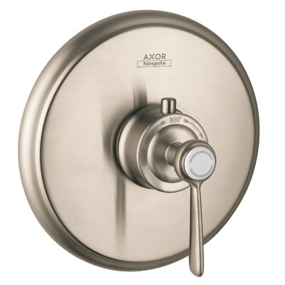 Axor Montreux Thermostatic Faucet Trim with Lever Handle Finish: Brushed Nickel