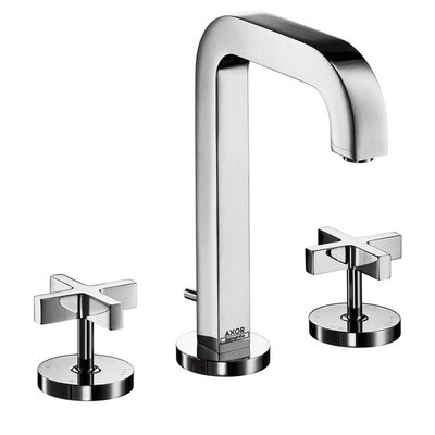 Axor Citterio Widespread Faucet with Cross Handles Finish: Chrome