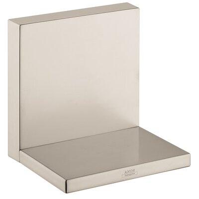 Axor Starck 4.75 x 4.75 Surface Mount Medicine Cabinet Finish: Brushed Nickel