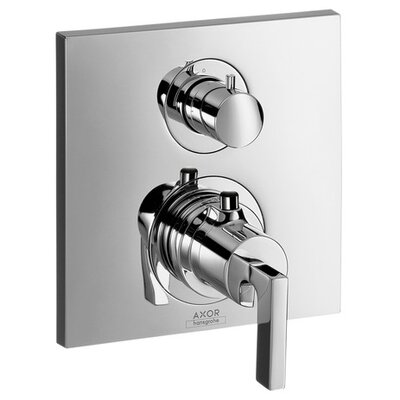 Axor Citterio Trim Lever Thermostatic with Volume Control Finish: Chrome