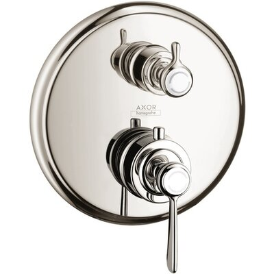 Axor Montreux Trim Lever Thermostatic with Volume Control Finish: Polished Nickel