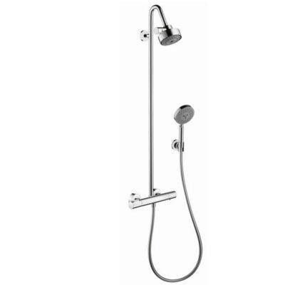 Axor Citterio M Shower Pipe Finish: Brushed Nickel