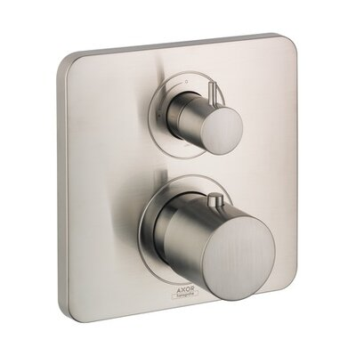 Axor Citterio M Trim Thermostatic with Volume Control Finish: Brushed Nickel