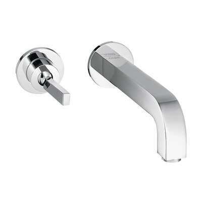 Axor Citterio Single Handle Wall Mounted Faucet Finish: Chrome