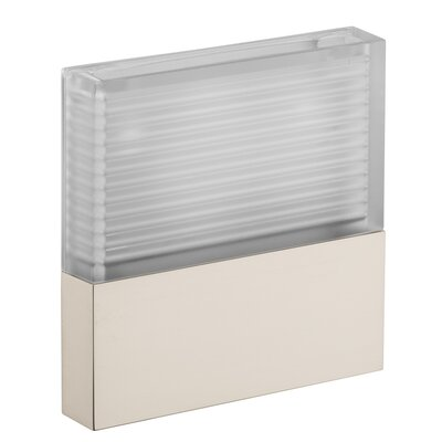 Axor Starck Flush Mount Finish: Brushed Nickel