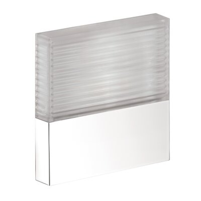 Axor Starck Flush Mount Finish: Chrome