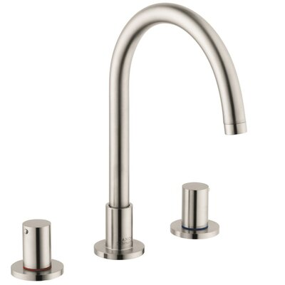 Axor Uno Double Handle Widespread Faucet Finish: Brushed Nickel