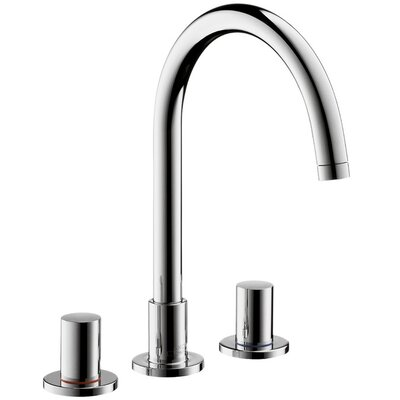 Axor Uno Double Handle Widespread Faucet Finish: Chrome