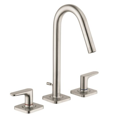 Axor Citterio M Double Handle Widespread Faucet Finish: Brushed Nickel