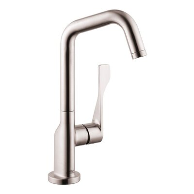 Axor Citterio Single Handle Bar Faucet Finish: Steel Optik