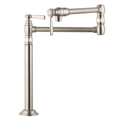 Axor Montreux Deck Mounted Pot Filler Stand Finish: Brushed Nickel