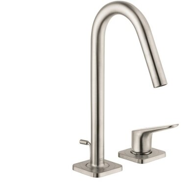 Axor Citterio M Single Handle Widespread Bathroom Faucet Finish: Brushed Nickel
