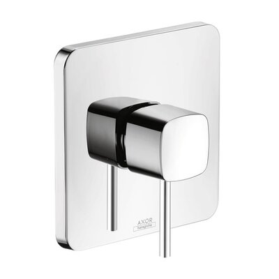 Axor Urquiola Pressure Balance Faucet Trim Finish: Chrome