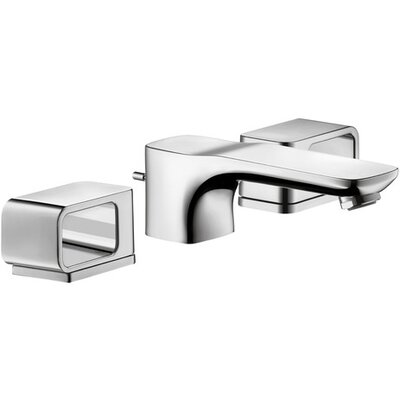 Axor Urquiola Double Handle Widespread Bathroom Faucet Finish: Chrome