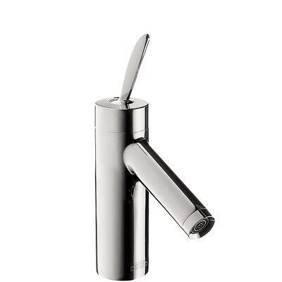 Axor Starck Single Handle Single Hole Standard Bathroom Faucet Finish: Chrome