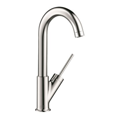 Axor Starck Single Handle Deck Mounted Bar Kitchen Faucet Finish: Chrome