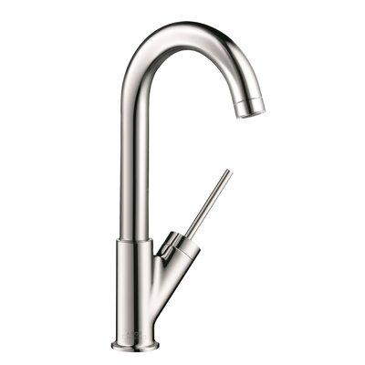 Axor Starck Single Handle Deck Mounted Bar Kitchen Faucet Finish: Chrome