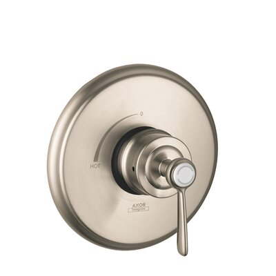 Axor Montreux Pressure Balance Faucet Trim with Lever Handle Finish: Brushed Nickel