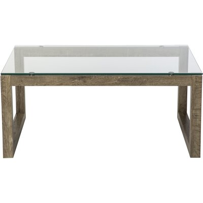 Dakota Coffee Table Base Finish: Weathered Blonde