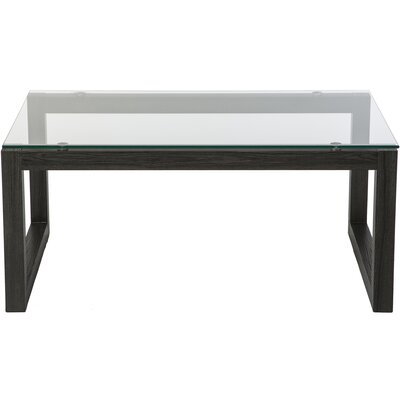 Dakota Coffee Table Base Color: Black Umber