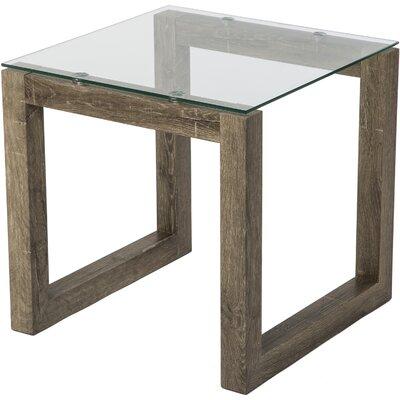 Dakota End Table Base Color: Weathered Blonde