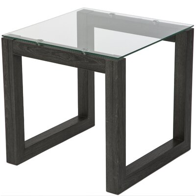 Dakota End Table Base Finish: Black Umber