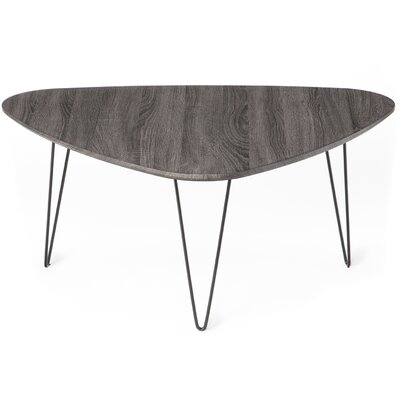 Saratoga Coffee Table Color: Brushed Black Oak