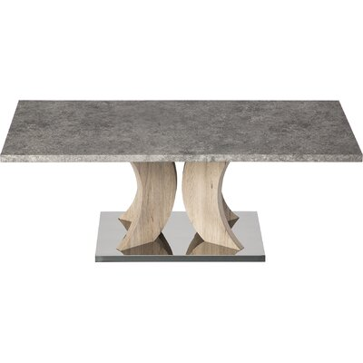Leverett Coffee Table Color: Cement Gray