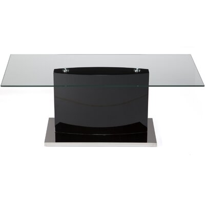 Dai Coffee Table Color: Piano Black