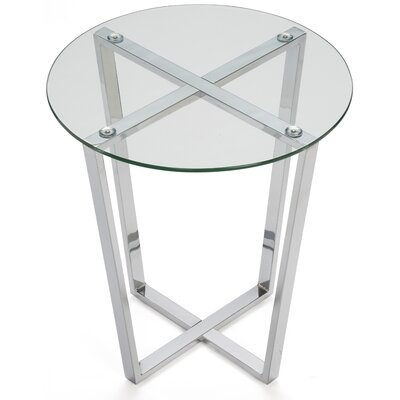 Rodden Glass End Table