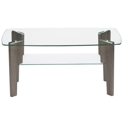 Armendariz Mid Century Top Coffee Table Size: 18 H x 37 W X 20 D