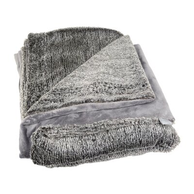 Baby Corded Throw Color: Slate