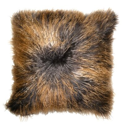 Luxe Double Dipped Throw Pillow Color: Stromy
