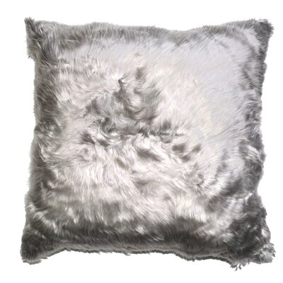 Luxe Suri Throw Pillow Color: Charcoal