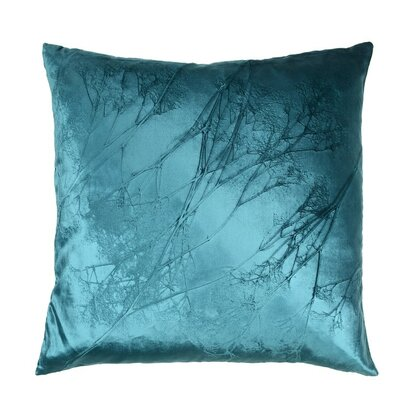 Signature Babys Breath Peri Velvet Throw Pillow