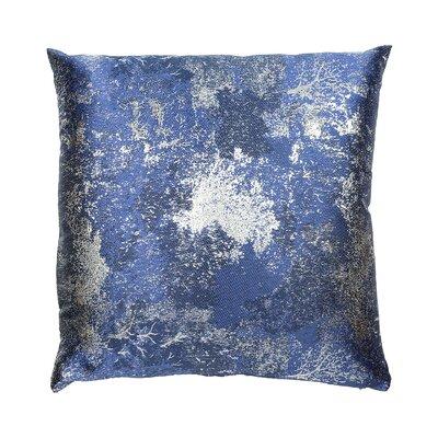Textile Library Estate Throw Pillow Color: Blue