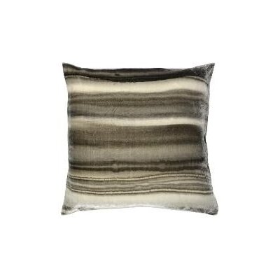 Borealis Throw Pillow Color: Siver Velvet