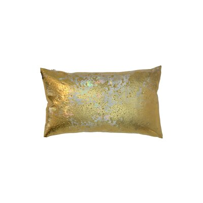 Rockstar AB Moonstone Lumbar Pillow Color: Gold
