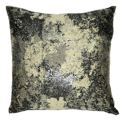 Textile Library Estate Throw Pillow Color: Charcoal