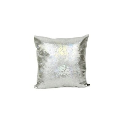 Rockstar AB Moonstone Throw Pillow Color: Silver