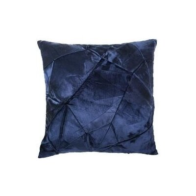 Signature Facet Accent Pillow Color: Prussian, Size: 12 x 20
