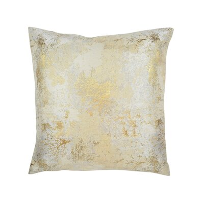 Textile Library Estate Throw Pillow Color: Champagne