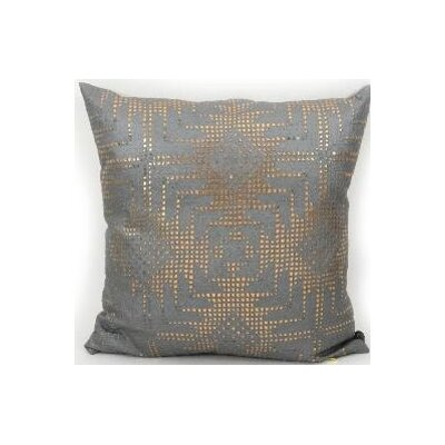 Rockstar Aztec Lace Accent Pillow Color: Gold, Size: 12 x 20