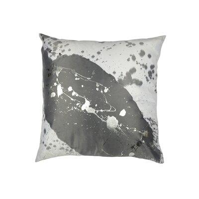 Mod Art Constellation Throw Pillow Color: Cream /Silver
